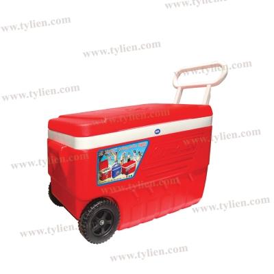 Thùng Đá Vuông Happy Cooler - 58