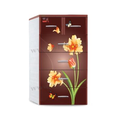 Tủ Nano-L Tulip - Nâu
