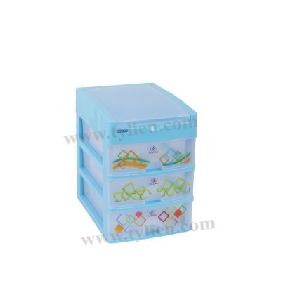 Tủ Nhựa Mini L Trắng Sữa 4 Ngăn